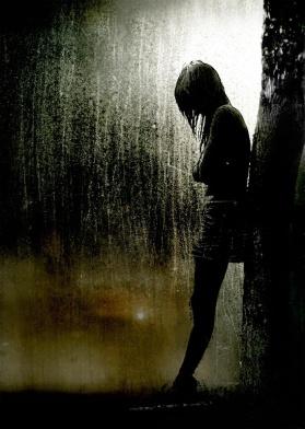 37382-girl-and-rain-dark